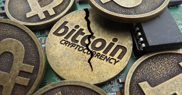 Crollo dei Bitcoin